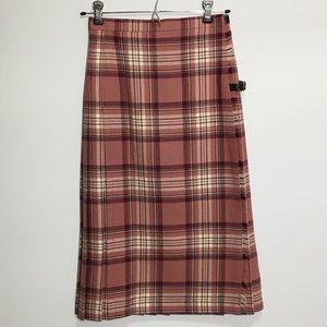 Vintage Kilt by JEDBURGH of SCOTLAND tartan skirt